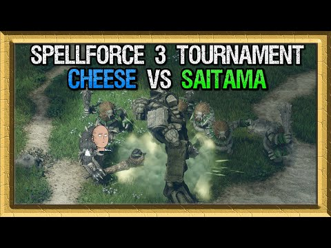 Spellforce 3 Tournament - Grand Finals - Cheese vs Saitama - Game 6  