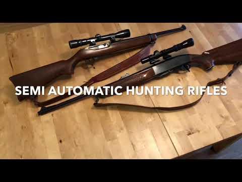 Semi-Auto Hunting Rifles: The Woodsmaster & The 44 Carbine