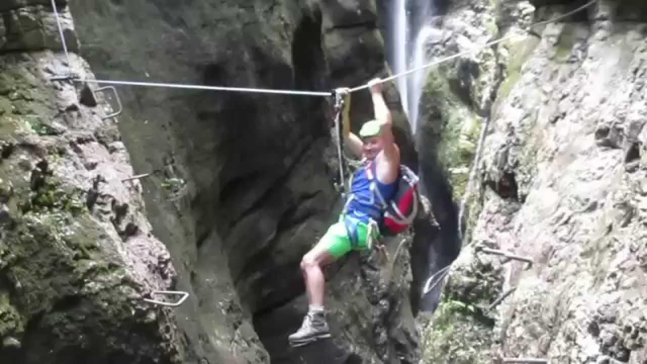 Calmont Klettersteig Unfälle : Todessprung am klettersteig youtube