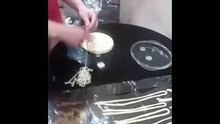 Как делаются тесто лагмана
