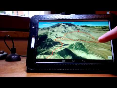 Trekker3D USGS 3D Map Gps Hiking Navigator Android