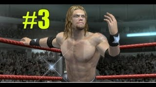 WWE Smackdown vs Raw 2010 EDGE PART 3 ROAD TO WRESTLEMANIA