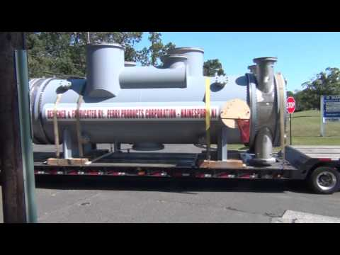 Perry Products - Heat Exchanger Shipment to Delaware City Refinery, Delaware