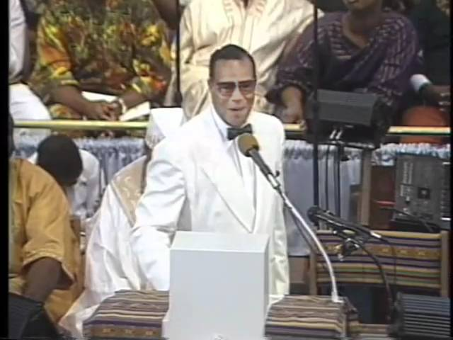 Minister Farrakhan Speaks on the Nature of Man and Woman (1 of 2)