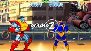 X-Men: Children of the Atom - Cyclops Playthrough