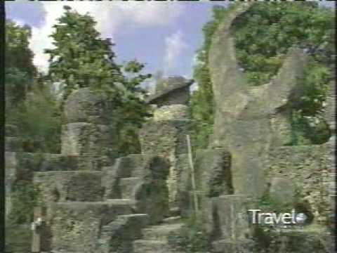 Coral Castle stone structure created by the Latvian-American eccentric Edward Leedskalnin pt2