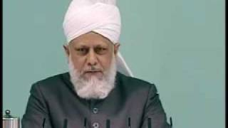 Friday Sermon: 30th April 2010 - Part 4 (Urdu)