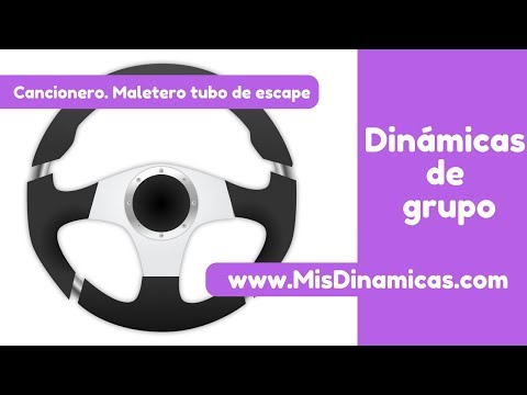 ✅Cancionero Maletero, tubo de escape #risoterapia #dinamicas #teambuilding