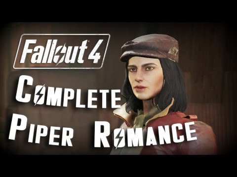 Fallout 4: COMPLETE Piper Romance Relationship