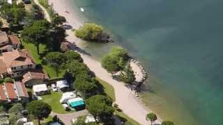 Camping Bellavista & Lake Garda view from Monte Brione