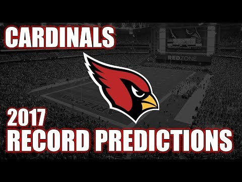 Arizona Cardinals 2017 Record Predictions