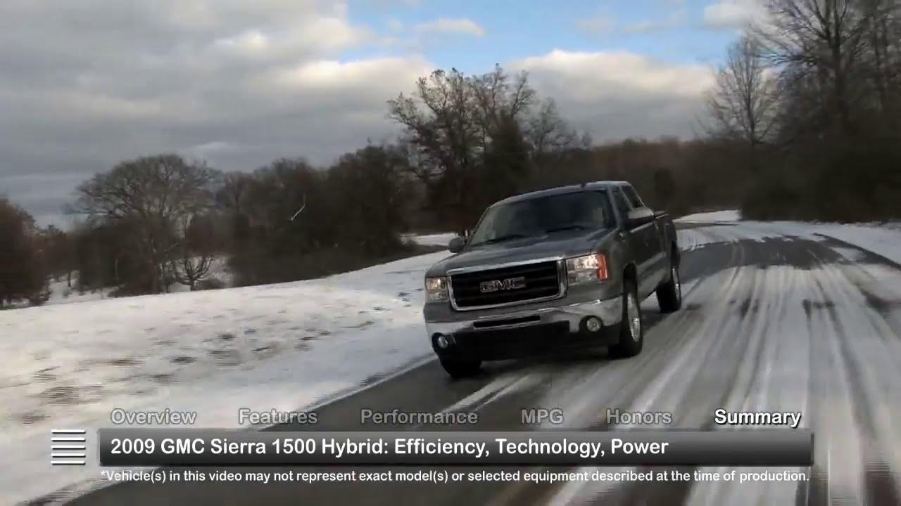 2009 Gmc Sierra 1500 Hybrid Used Car Report