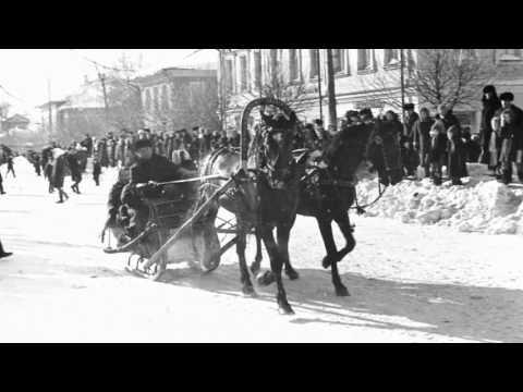 Тройка Русская старые фото  Вельск