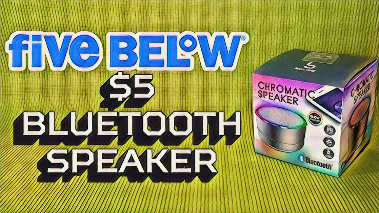 580e8a9c5ea Bluetooth Speaker from Five Below - $5 Chromatic Speaker Review - Budget  Buys Ep. 7