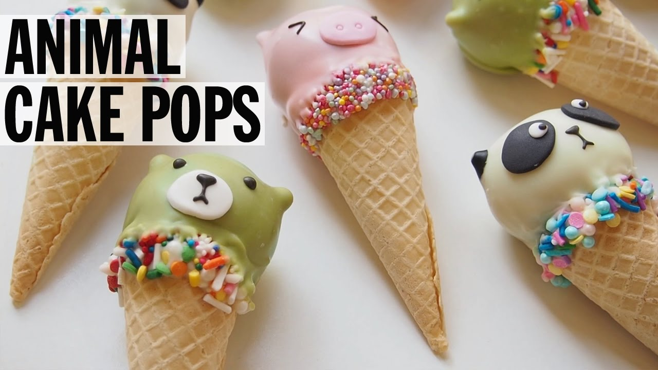 Animal Cake Pops Food Network