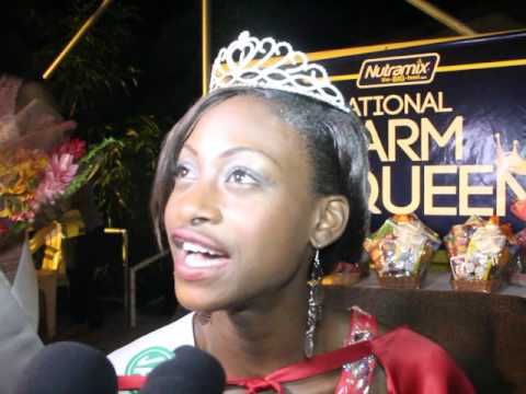 2016 National Farm Queen Safiya Clennon
