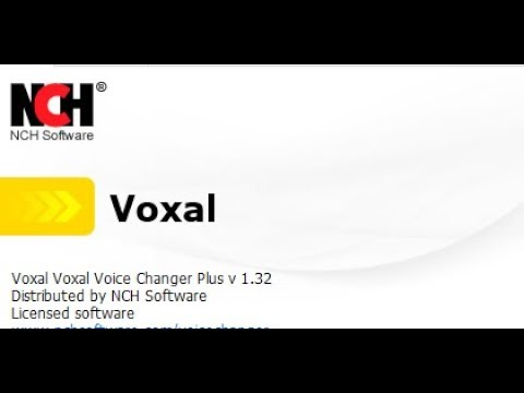 nch voxal voice changer plus piratecity.net