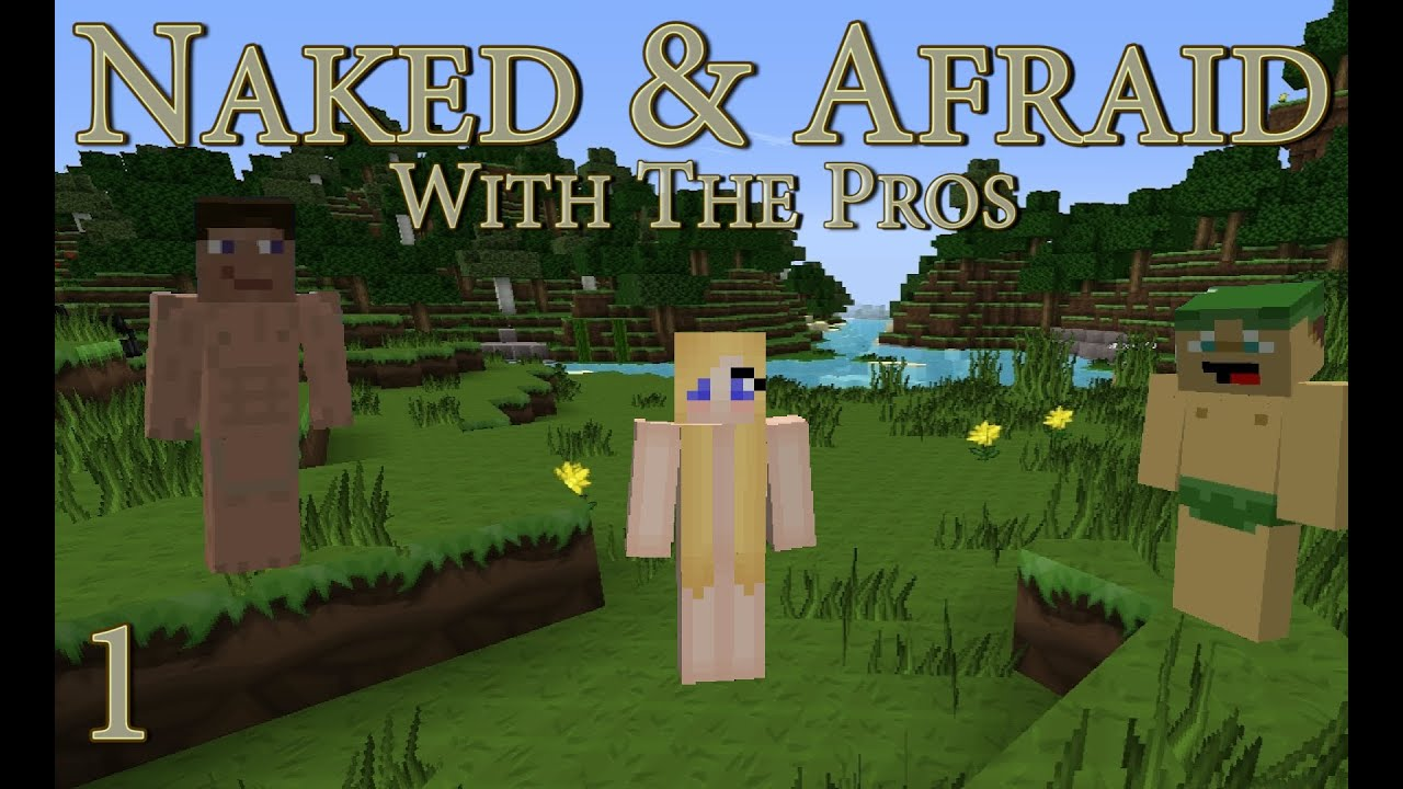 Lets Play  Minecraft Hardcore Naked  Afraid  Ep 1  Weve Got Wood - Youtube-8455