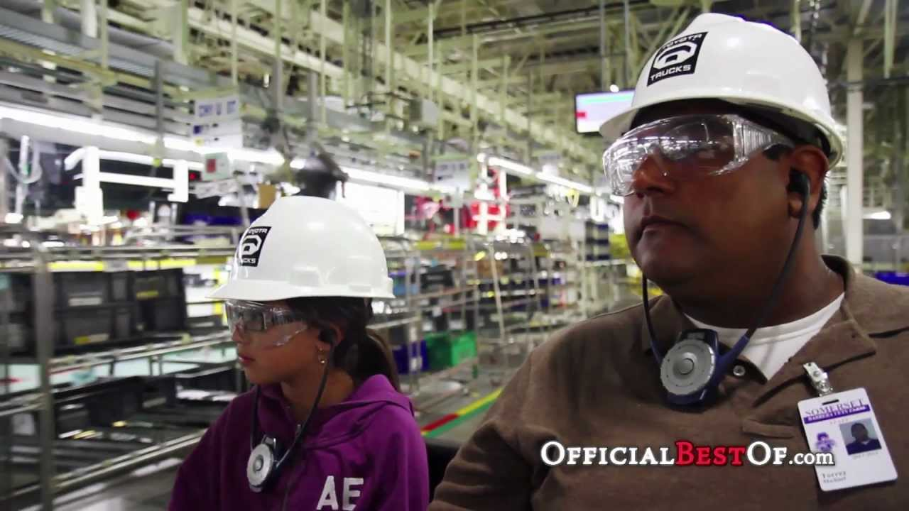 Toyota Motor Manufacturing, Inc  Visitor & Education Center - Best Plant  Tour - Texas 2012