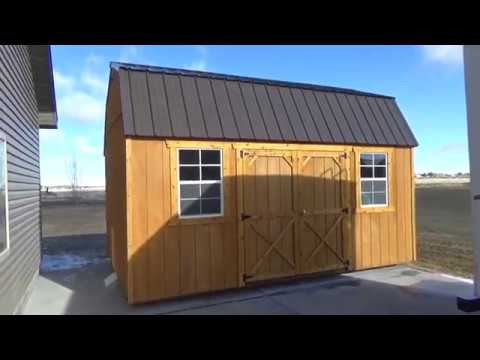 The Tour Of Our New, Old Hickory 10x16 Shed & Our Thoughts