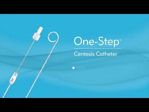 Merit Medical Valved One-Step Centesis Catheter