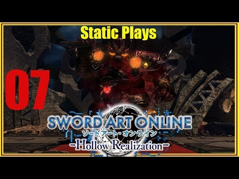 Let's Play Sword Art Online EP. 07 (First Raid Means First Boss!)