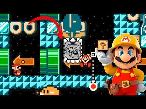 HASTA EL NIVEL ME TROLLEA  - 99% TROLL #2 | Super Mario Maker
