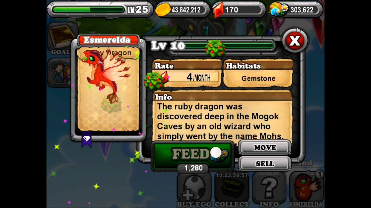 how to get a sapphire dragon in dragonvale
