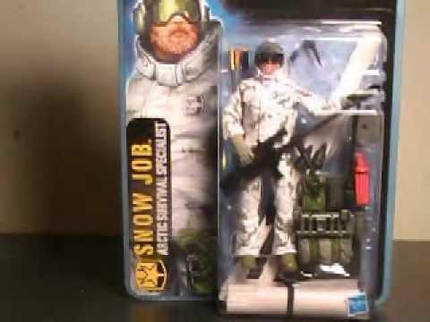 G.I. Joe the pursuit of Cobra Snow Job figure review