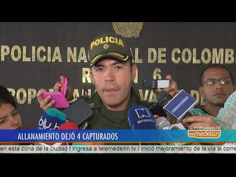 Operativo en el Centro de Medellín dejó 4 personas capturadas  [Noticias] - Telemedellín