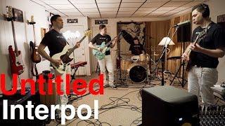 Interpol - Untitled (Cover by Joe Edelmann)