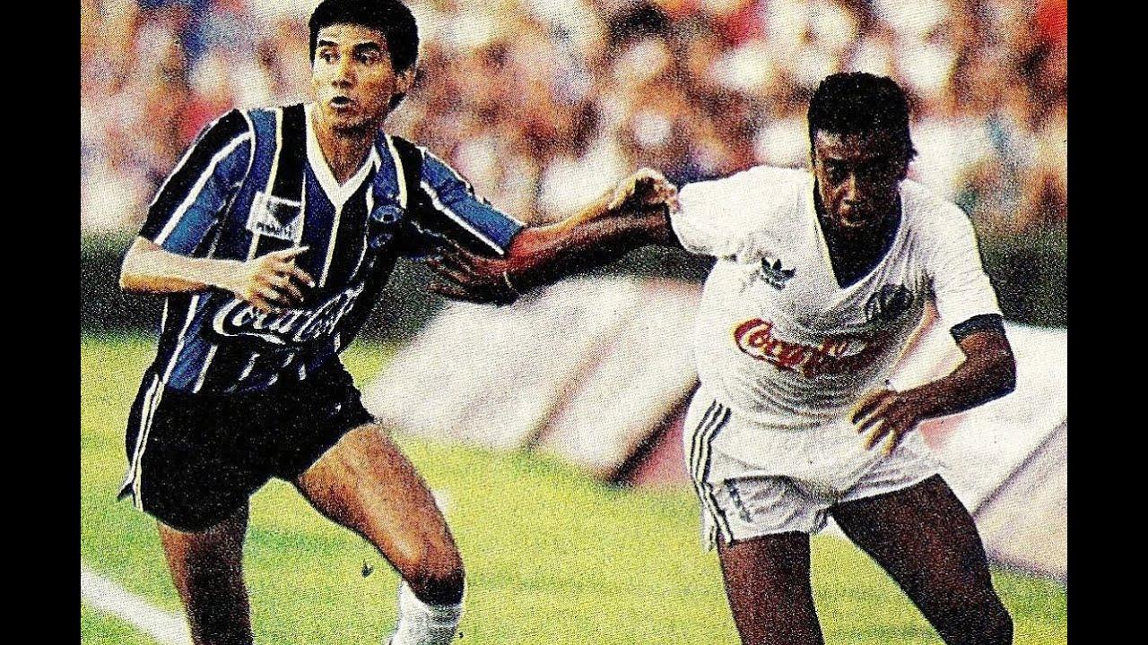 Palmeiras 1 x 0 Grêmio - Campeonato Brasileiro 1990 - YouTube