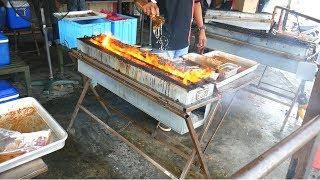 Eating KAJANG SATAY- SATAY CRAWL in Kajang & Kuala Lumpur - MALAYSIAN STREET FOOD