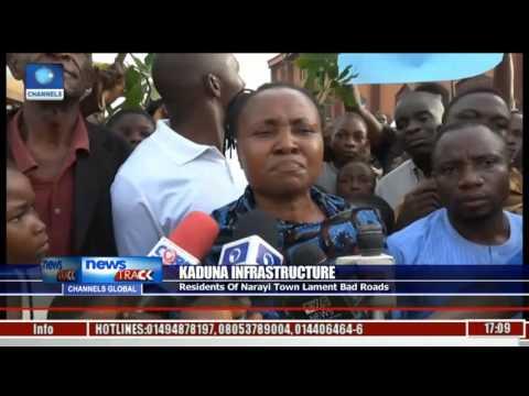 Residents Of Narayi Town In Kaduna Lament Bad Roads