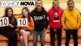 THEY RATED MY FASHION NOVA OUTFITS!!!