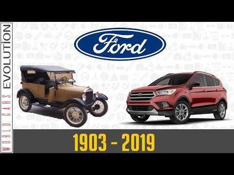 W.C.E. - Ford Evolution (1903 - 2019)