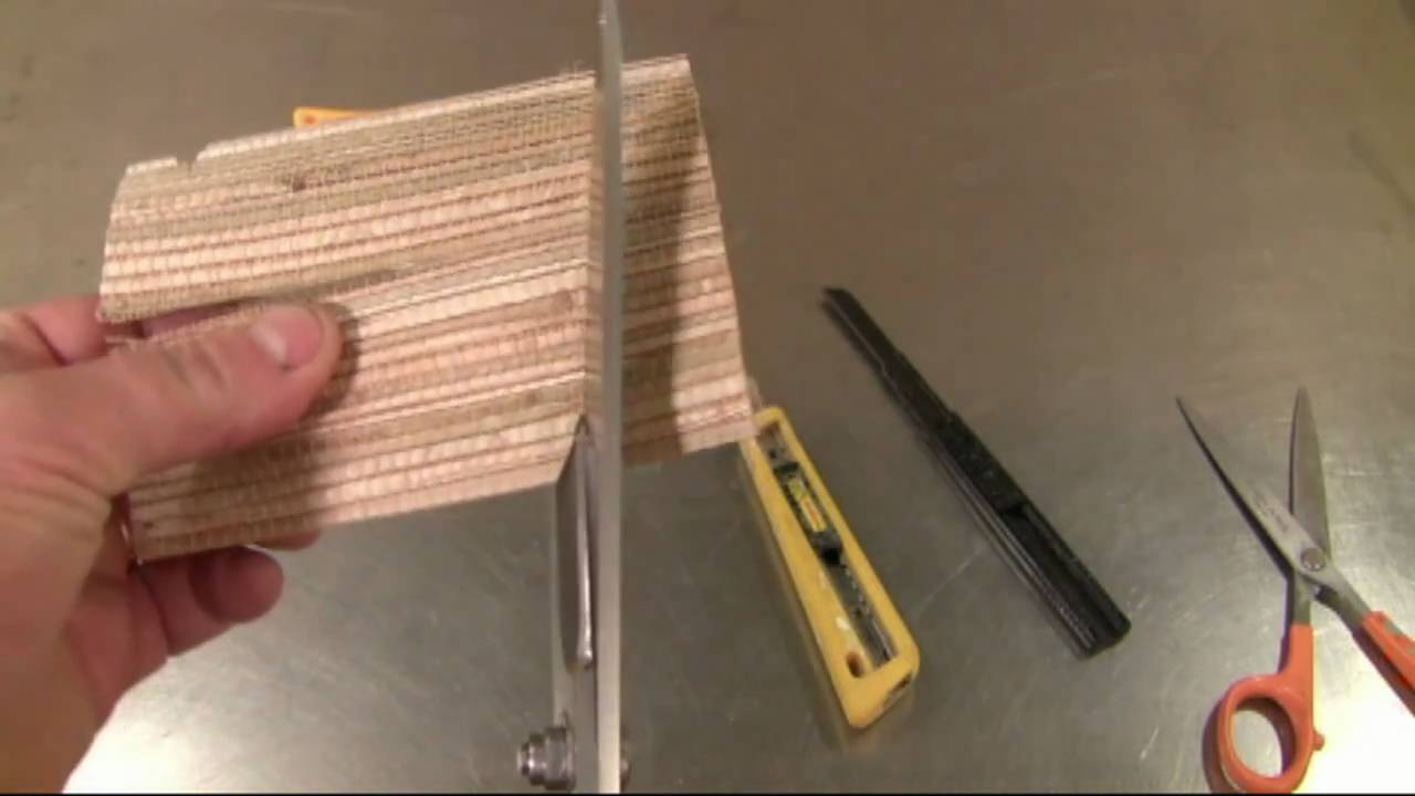 how to hang unpasted grasscloth