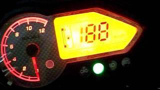 bajaj pulsar 150 silver speedometer