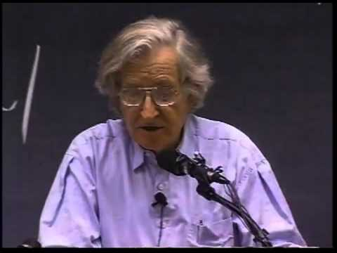 Noam Chomsky - Institutions vs. People: Will the Species Self-Destruct? - 04/10/2001