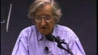 Noam Chomsky - Institutions vs. People: Will the Species Self-Destruct? - 04/10/2001