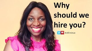 Why Should We Hire You? How to answer job interview question thumbnail