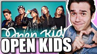 Реакция на Open Kids - Поколение Танцы (клип)