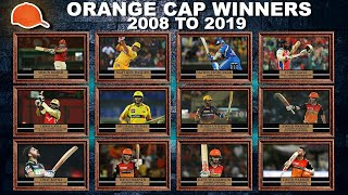 Orange Cap Winners of All IPL Seasons From 2008 to 2019