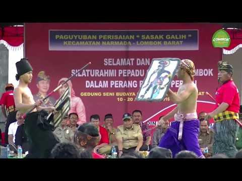 Tradisi Peresean Sasak Lombok Di Balai Budaya Narmada Lombok Barat
