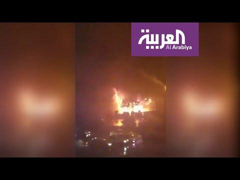 قطع محور طرقي في أصفهان بإشعال النار  - نشر قبل 2 ساعة