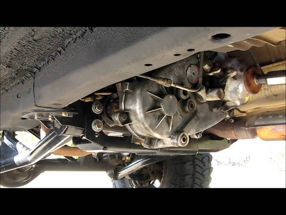 Jeep Grand Cherokee 4x4 Project ZJ Part 40 Transfer Case Swap 249