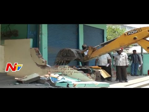 Govt Starts Removal of Illegal Constructions in Jagtial || NTV