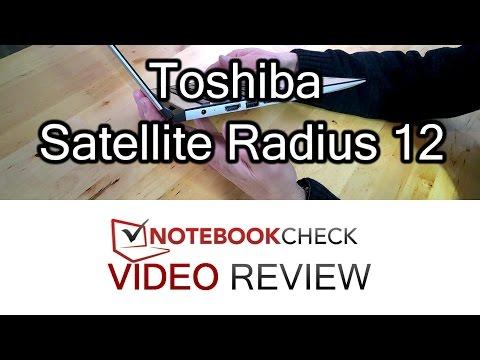 Toshiba Satellite Radius 12 detailed review. Core i7.