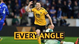 Jota v Cardiff City | Every Angle