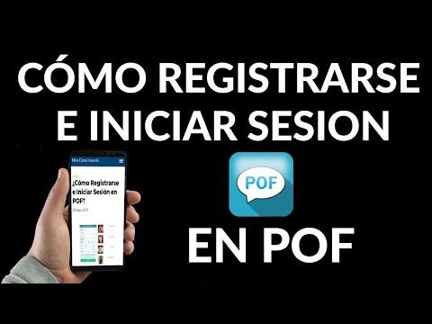 Cómo Registrarse e Iniciar Sesión en POF